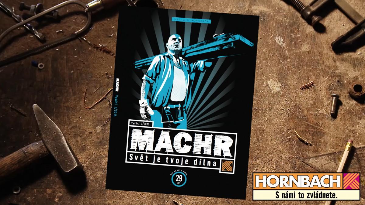 Druhé číslo Hornbach Machra