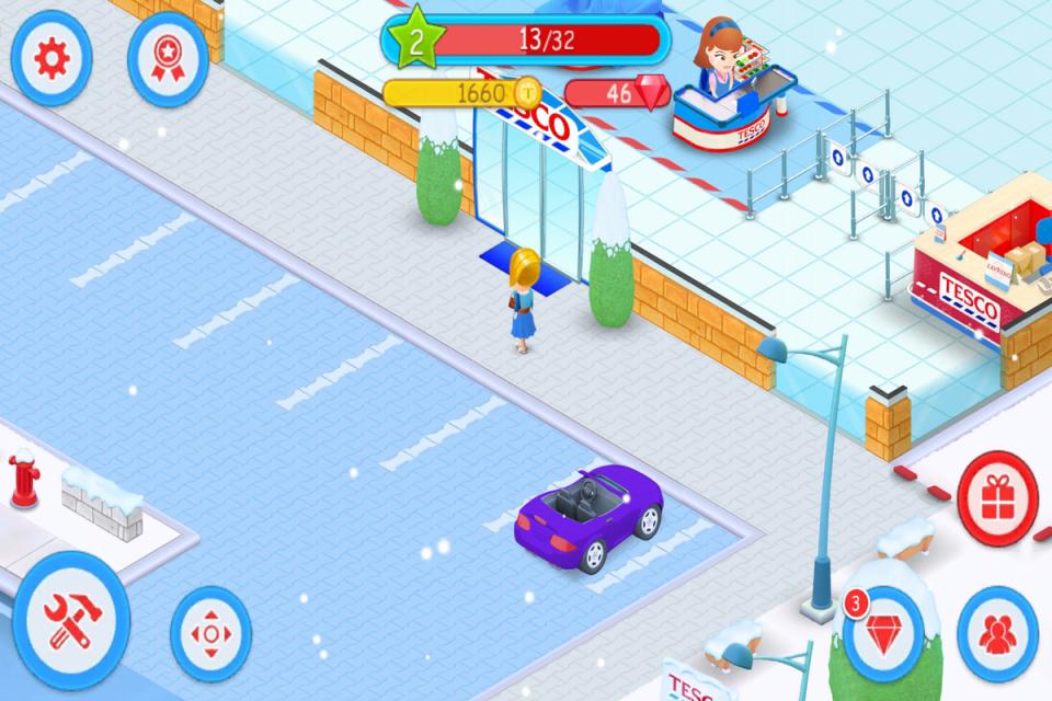 Tesco má herní aplikaci pro potenciální manažery