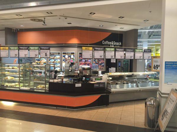 Bistra Coffee & Snack se otevřela u hypermarketů Albert