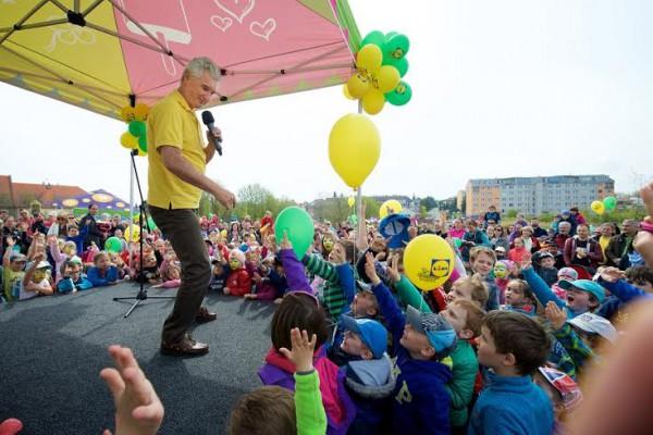 Otevření doprovázel program pro děti s Michalem z Kouzelné školky