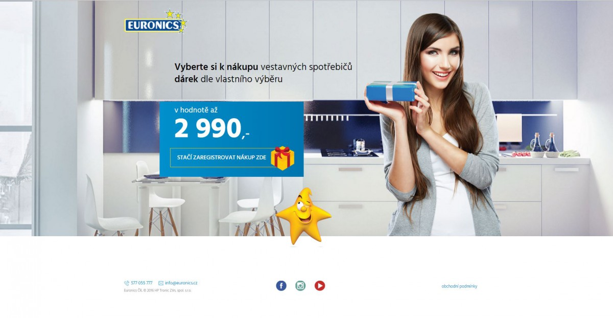 Euronics se chce nově zaměřit hlavně na vestavěné spotřebiče