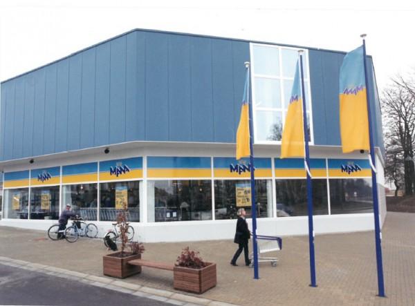 Takhle vypadal první obchod společnosti Ahold v roce 1991 v Jihlavě