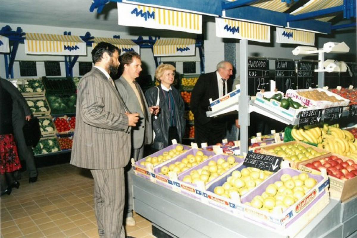 Před 25 lety se otevřel první supermarket Mana společnosti Ahold v Jihlavě