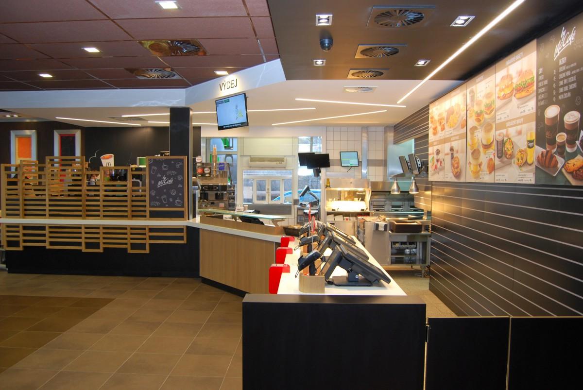 Nový koncept se promítl i do designu restaurací
