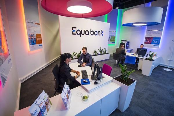 Equa bank je poprvé od svého vstupu do Česka v zisku