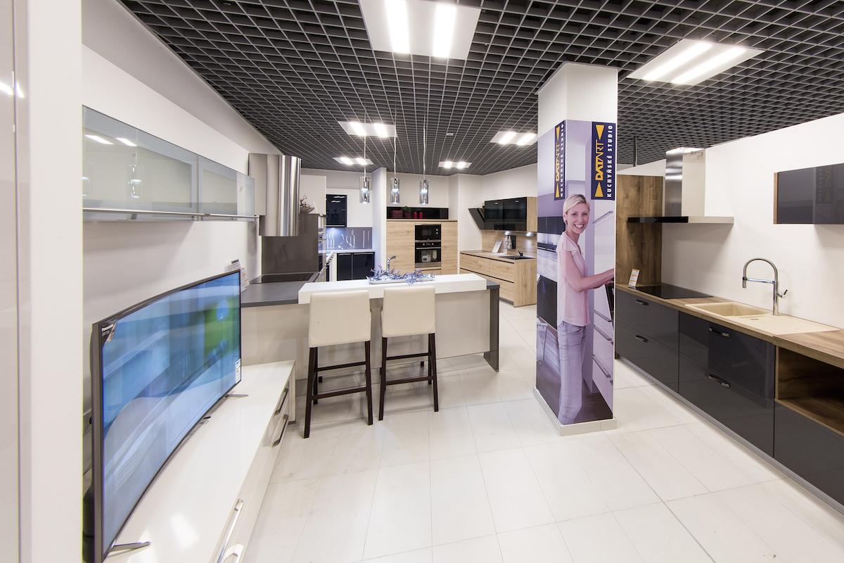 Kuchyňská studia jsou jedním ze zcela nových prvků v prodejnách Datartu