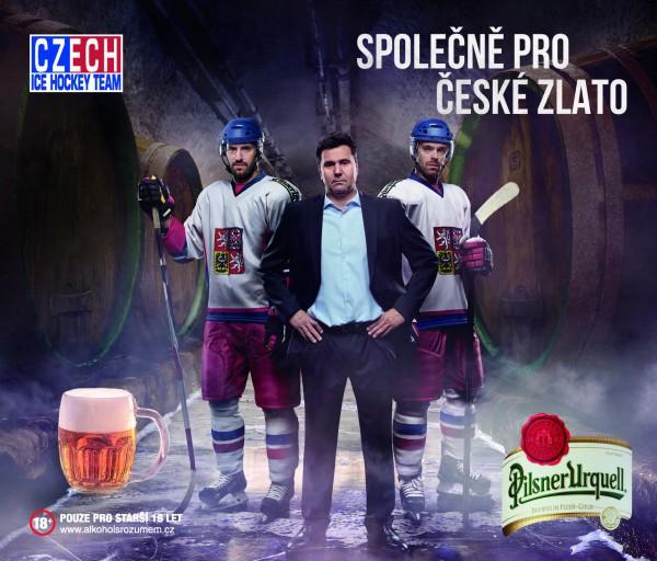 K větší spotřebě pomohlo i hokejové mistrovství světa, které Pilsner propagoval
