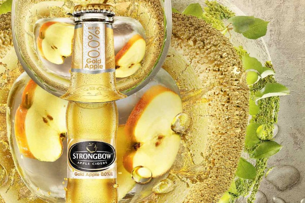 Cider Strongbow je nyní v prodeji také v nealkoholické verzi