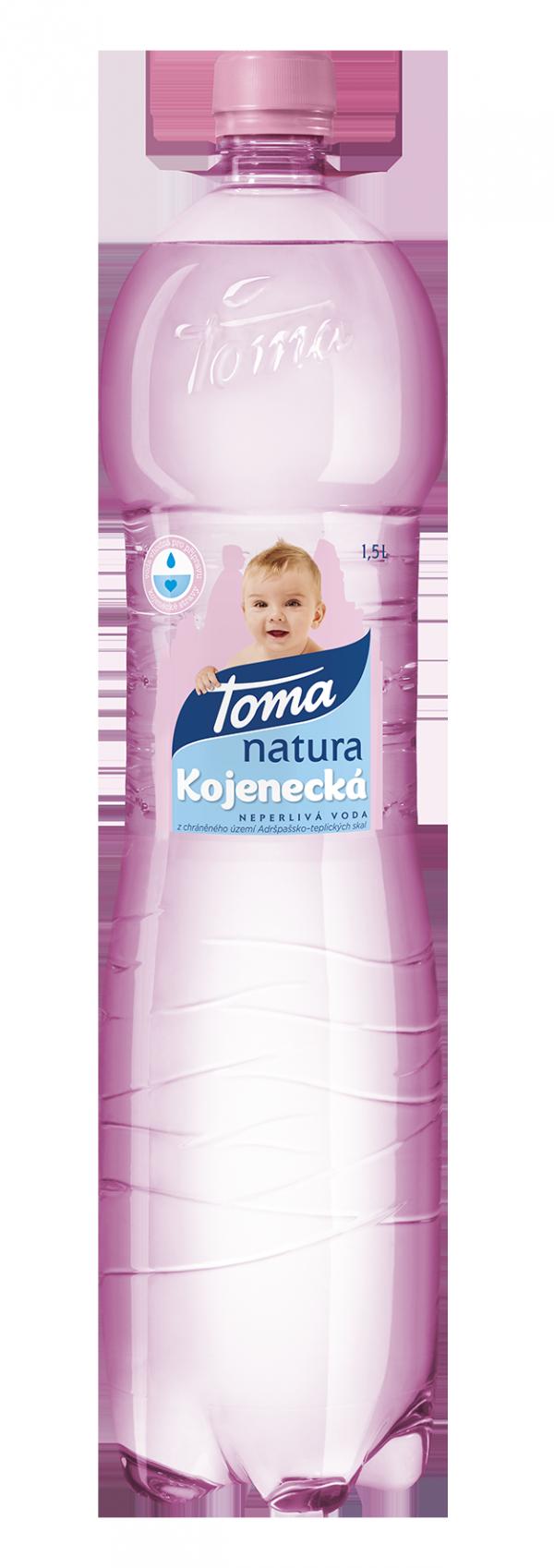 Toma uvedla na trh novou vodu pro kojence