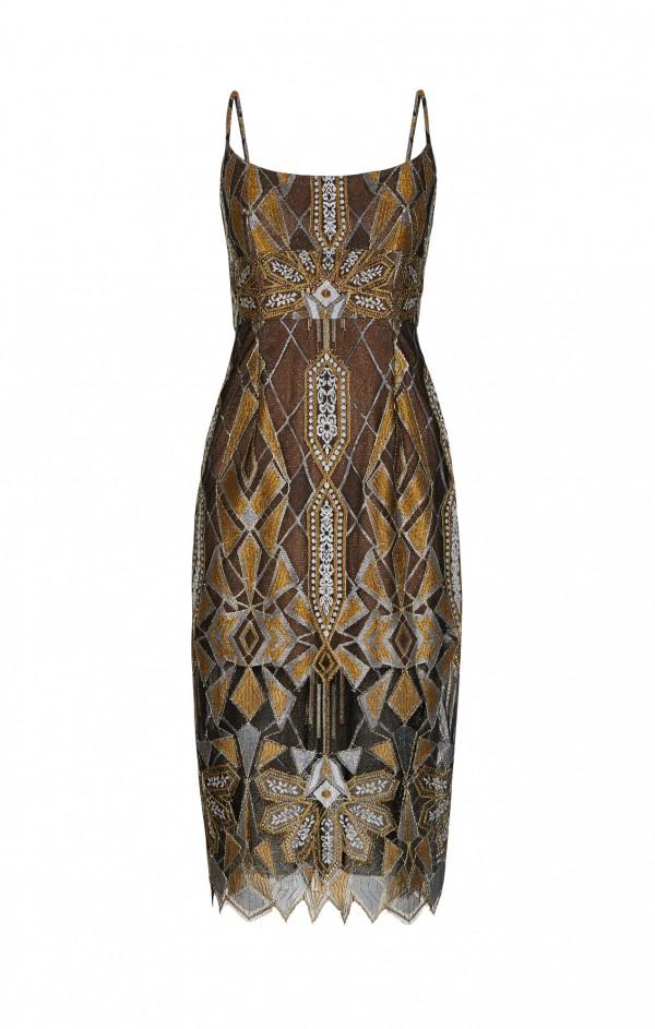 Ukázka šatů z nové kolekce BCBG Max Azria