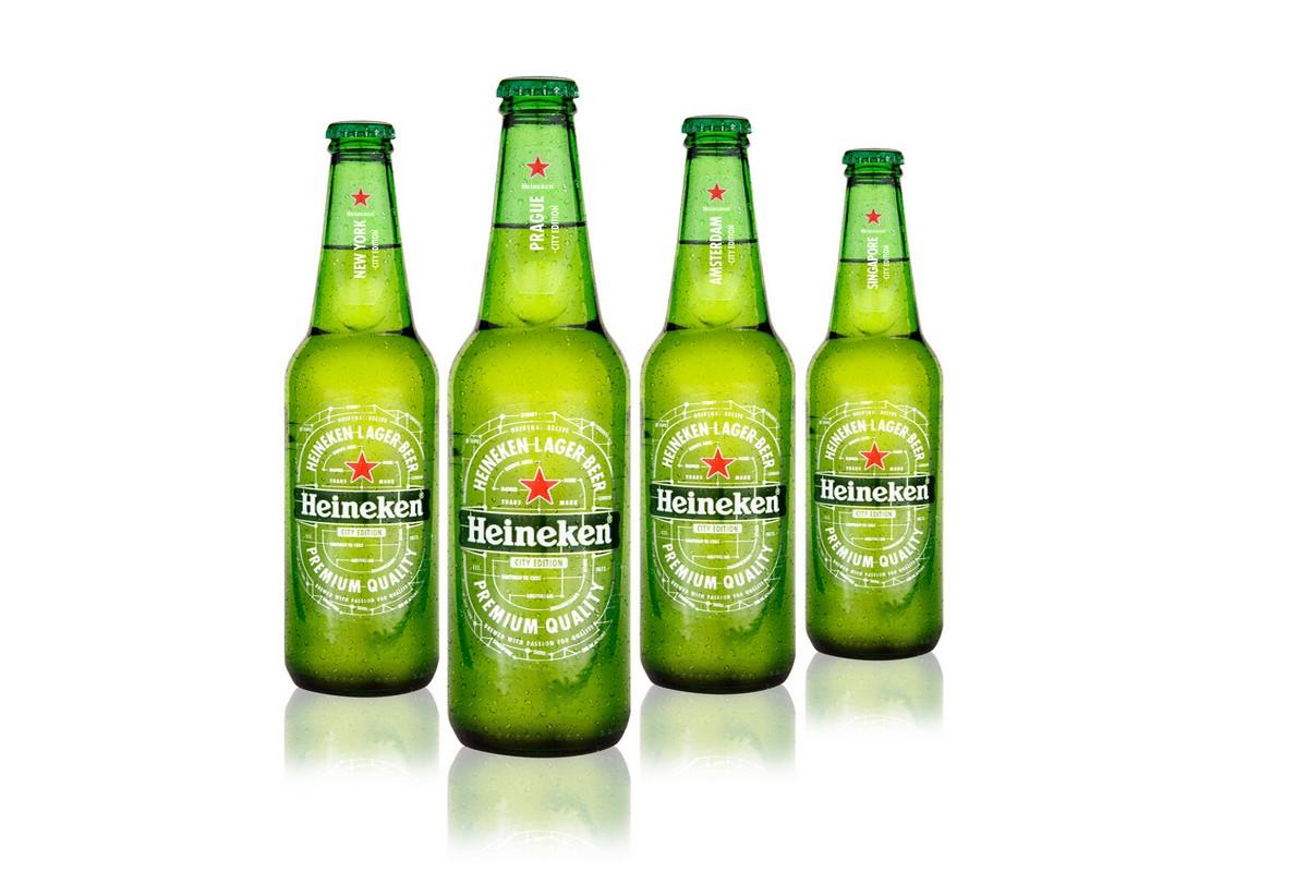 """Letošní """"velkoměstská"""" edice Heinekenu zahrnuje Amsterdam, New York, Prahu a Singapur"""