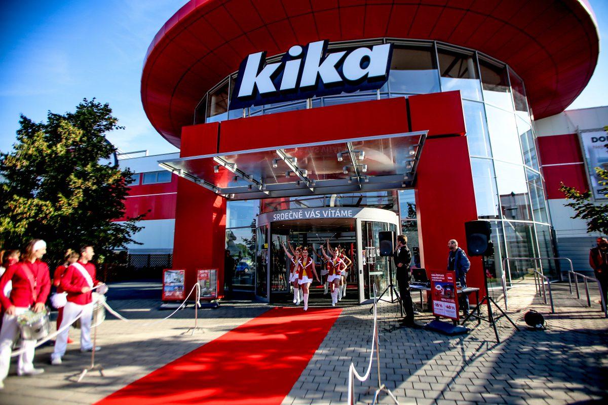 Slavnostní otevření nové podoby Kika ve čtvrtek 22. září