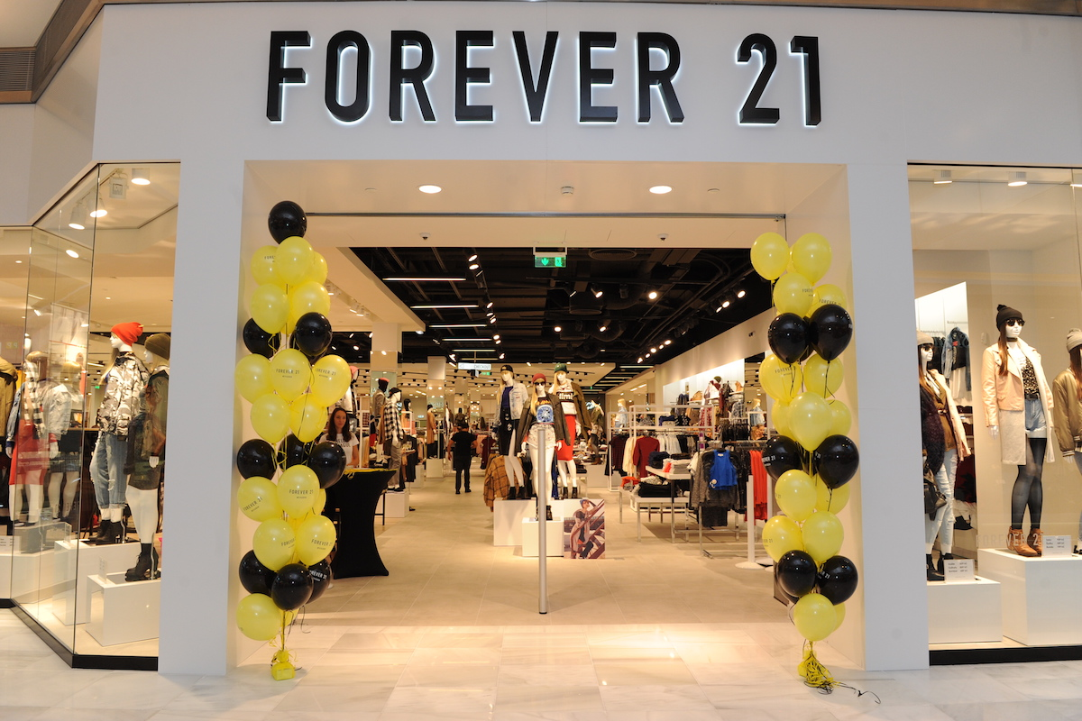 Forever 21 otvírá. Foto: Forever 21