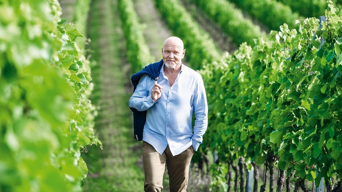 Tváří kampaně na moravská vína se opět stal Marek Vašut