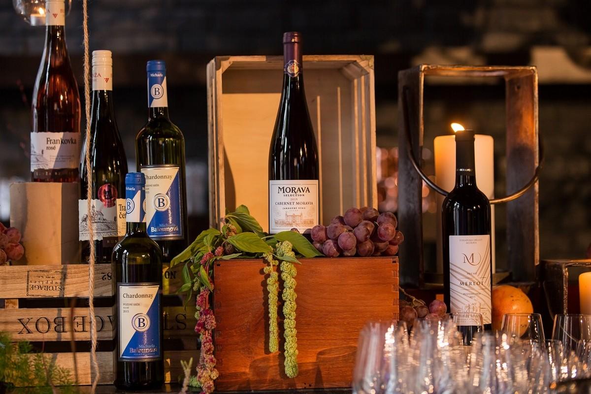 Moravská vína z nové nabídky Lidlu
