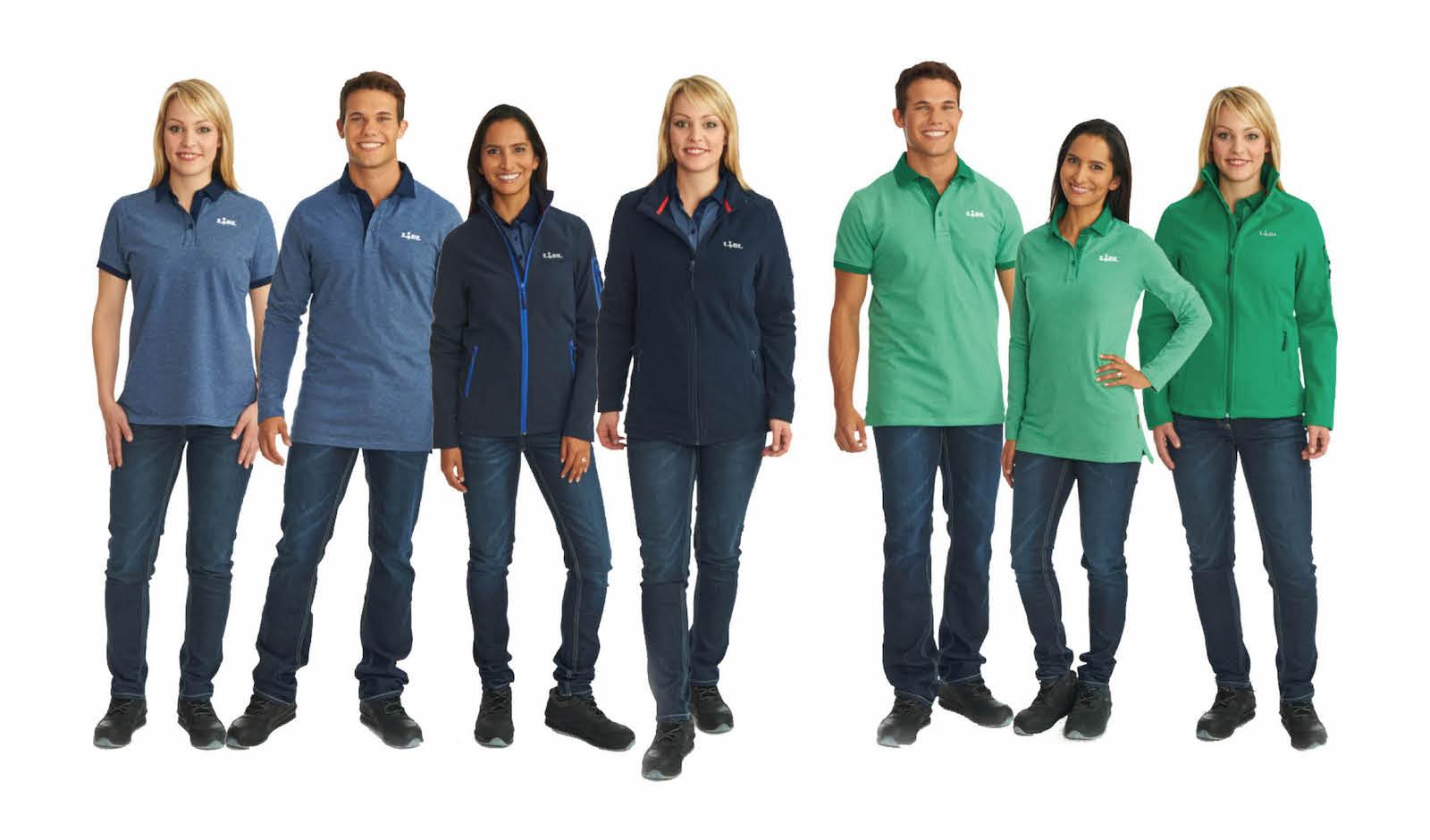 Nové oblečení zaměstnanců Lidlu