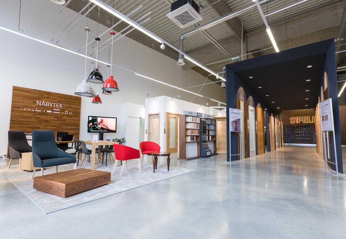 Nový showroom Sapeli v brněnském H-Parku