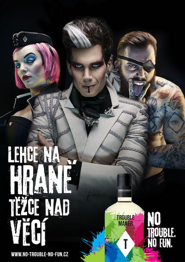 Tapeta, Tomahawk a Tattoo na propagačním plakátu
