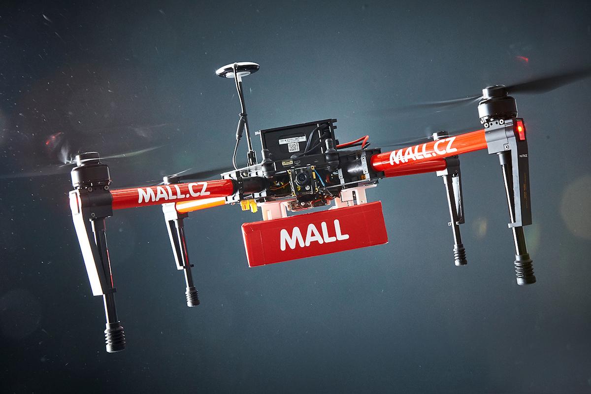 Dron Mall.cz