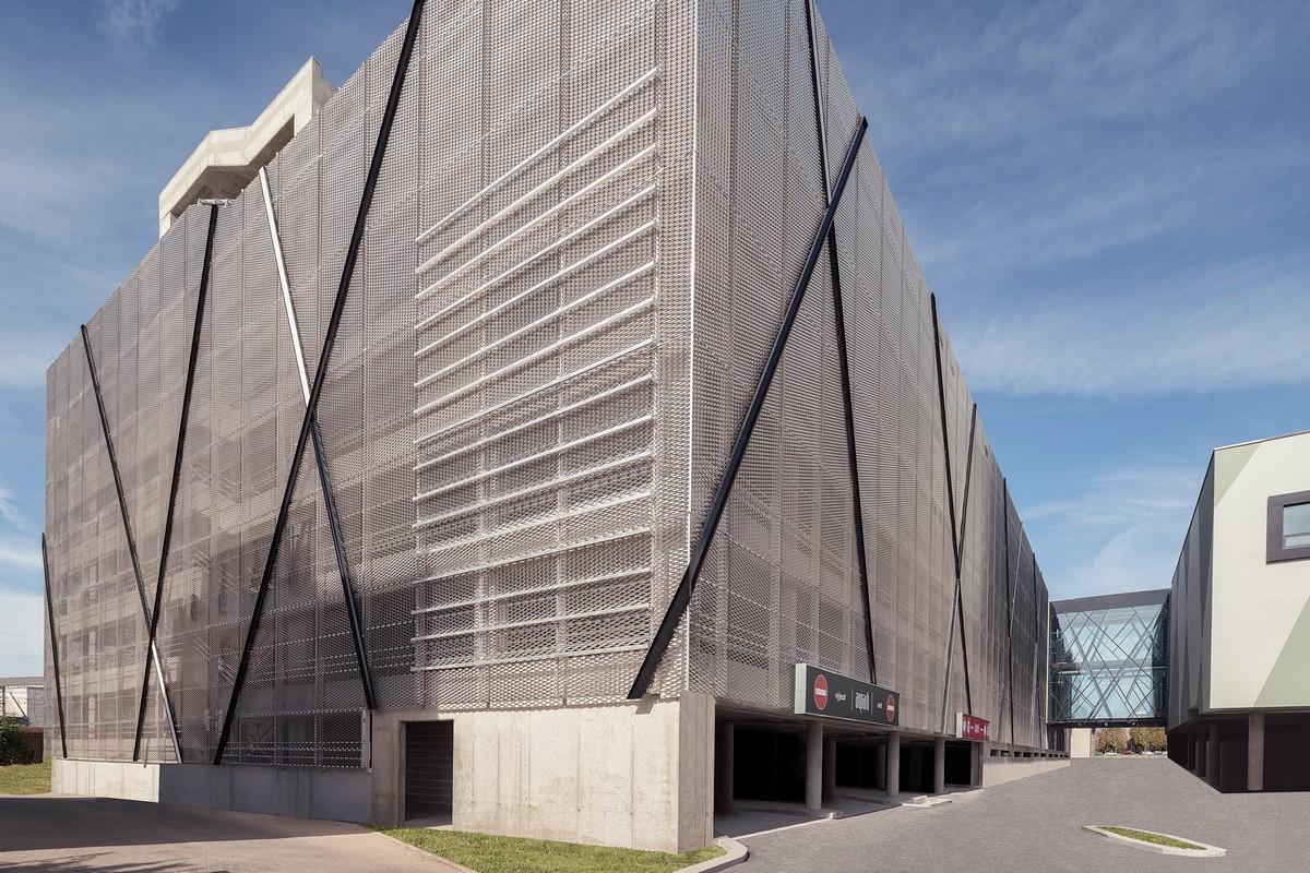Nové obchodní centrum v Aupark v Hradci Králové