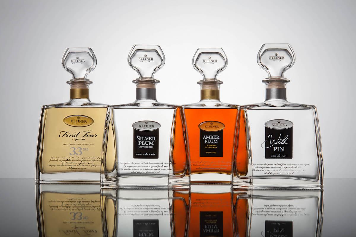Nová sada ovocných destilátů Distillery Kleiner