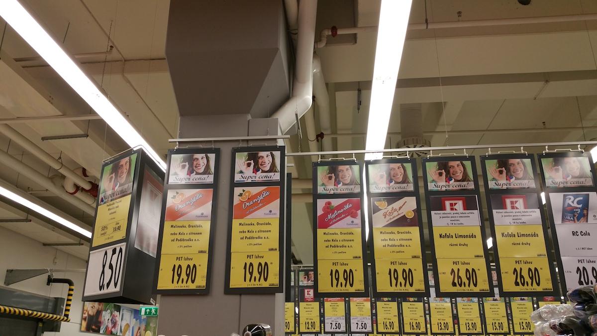 Cenovky před rekonstrukcí