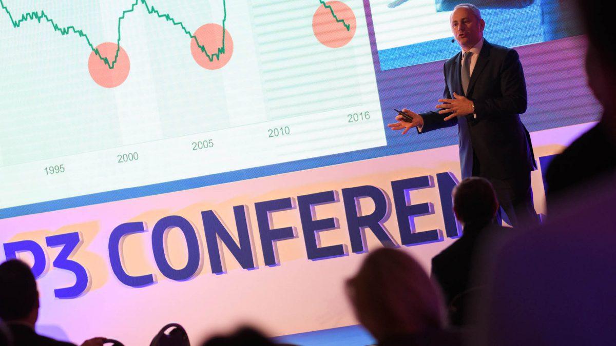 Amaury Gabriel z CBRE věří, že budoucností je vertikální logistika. Foto: P3 Conference