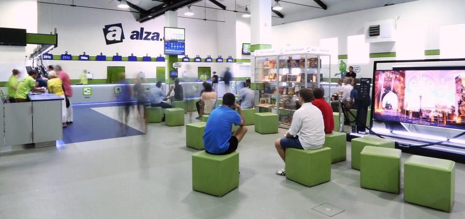 Alza s Prodejnou budoucnosti na Floře uspěla, v létě otevře další u Budějovické