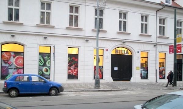 Prodejna Billy v pražském Karlíně