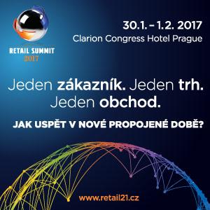 Přijďte na Retail Summit 2017