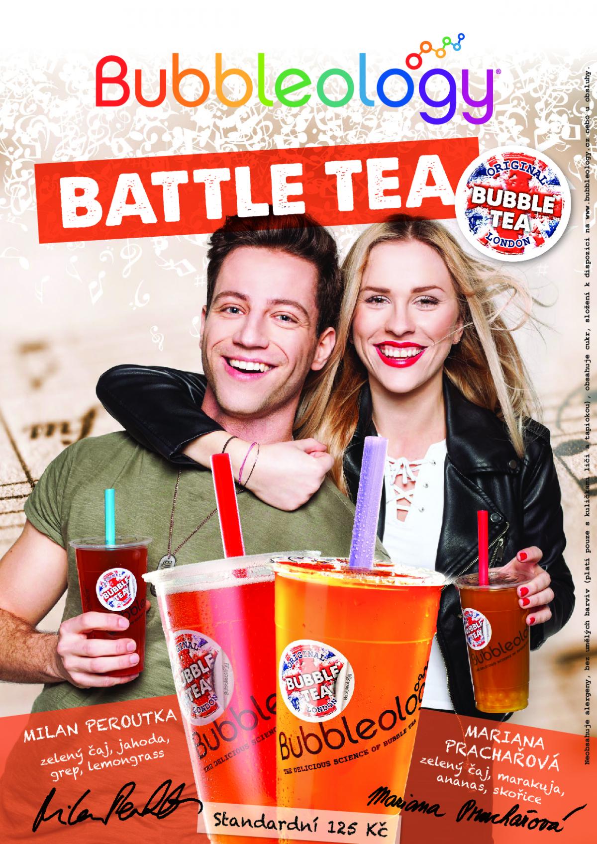 Nová limitovaná edice Bubbleology nazvaná Battle Tea