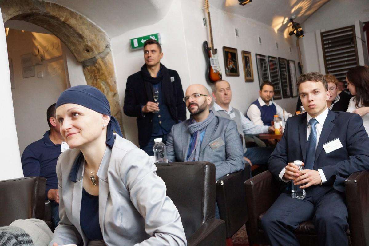 100. jubilejní setkání Franchise Clubu v jazz klubu Golem