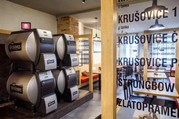 V Mělníku otevřela nová krušovická Šalanda s pivními lázněmi