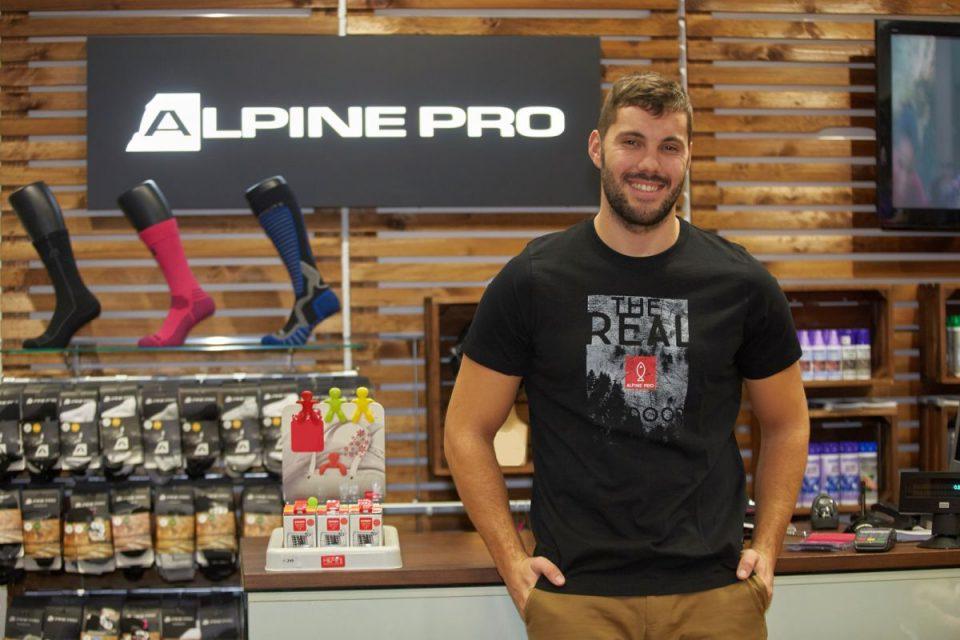 Josef Dostál ve službách Alpine Pro