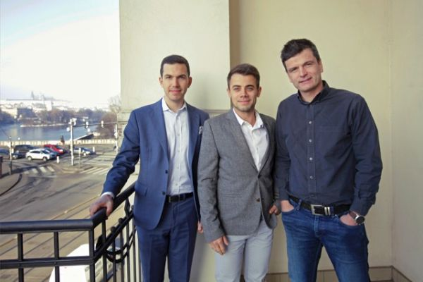 Zleva Michal Mička, Petr Svoboda a Ondřej Fryc