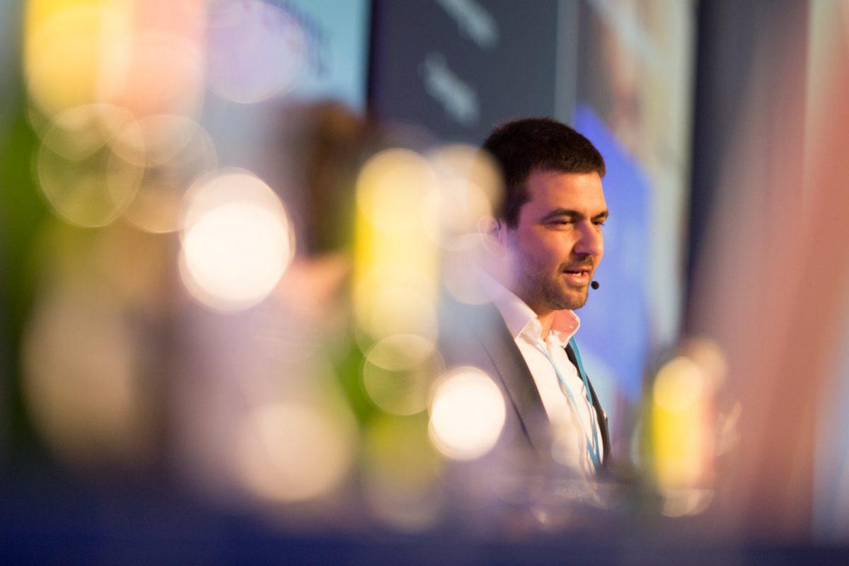Miroslav Tomčík na letošním Retail Summitu. Foto: David Bruner