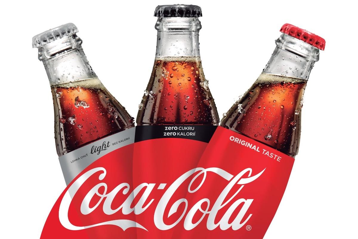 ový, sjednocený vzhled Coca-Coly