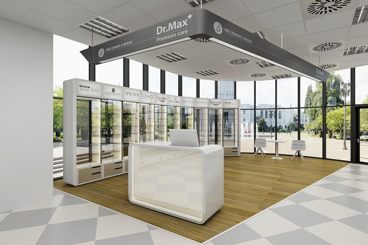 Dr.Max otevřel v prodejnách speciální prostory pro dermokosmetiku