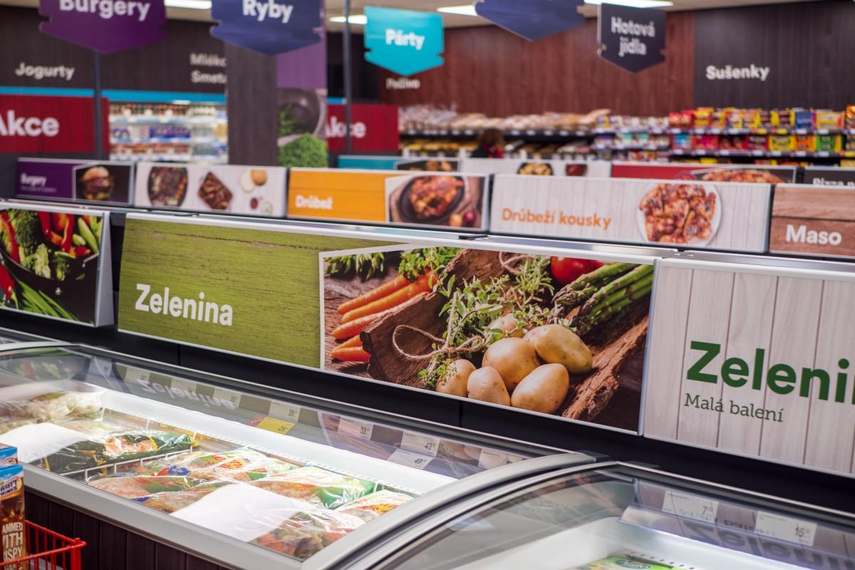 Nově by prodejny měly působit vzdušnějším a prostornějším dojmem