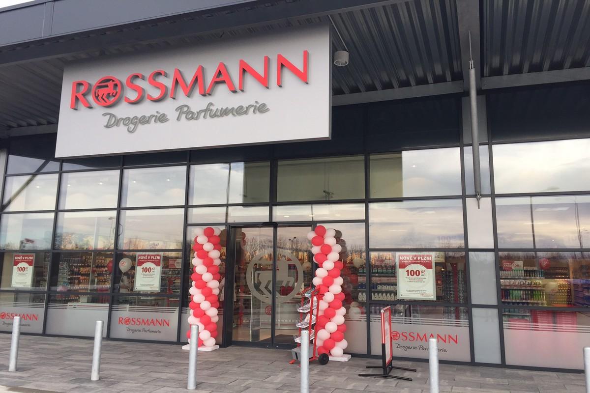 Nová plzeňská prodejna Rossmannu