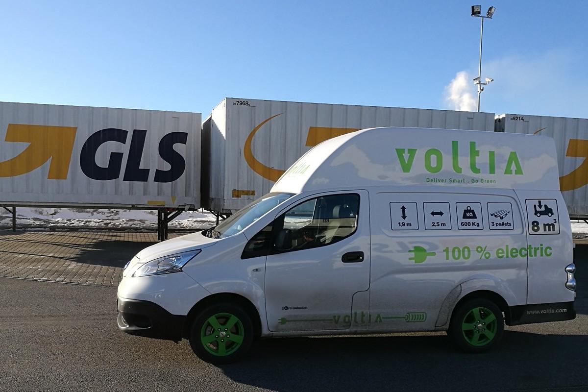 Elektromobil ve službách GLS