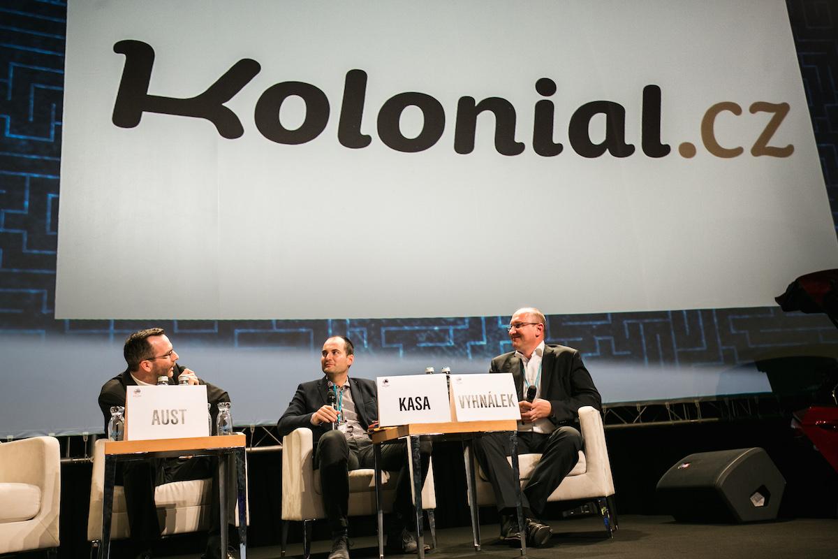Kolonial.cz s identitou, kterou představil na předloňském Retail Summitu, začátkem roku 2015
