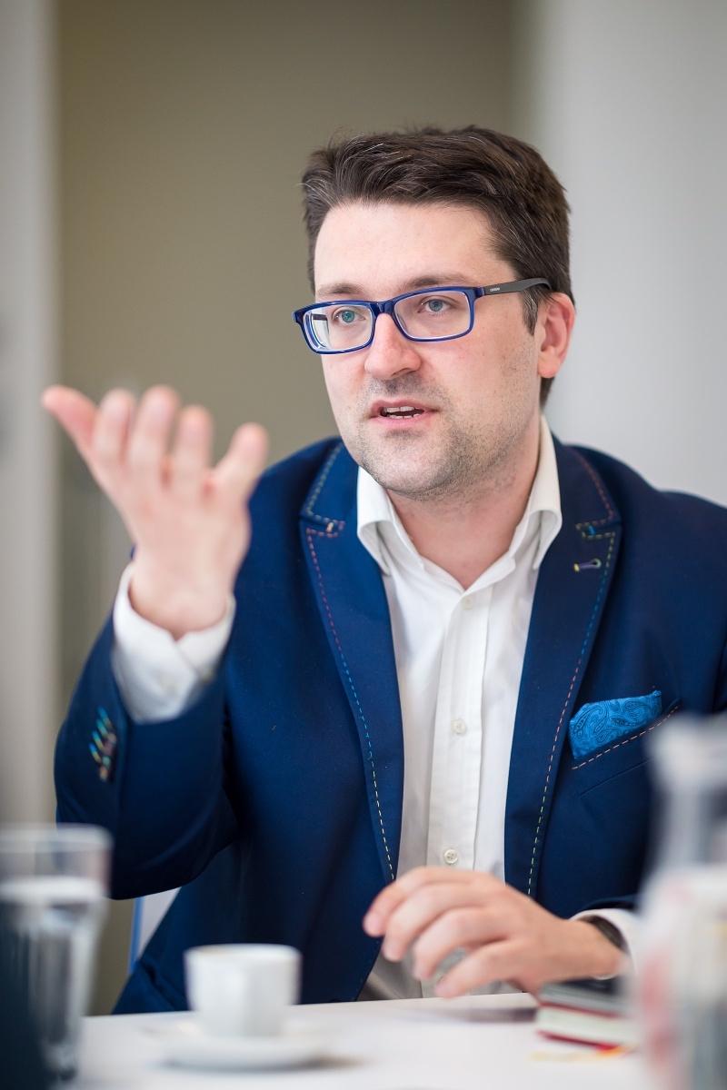 Tomáš Jindříšek z agentury Dark Side. Foto: Vojta Herout