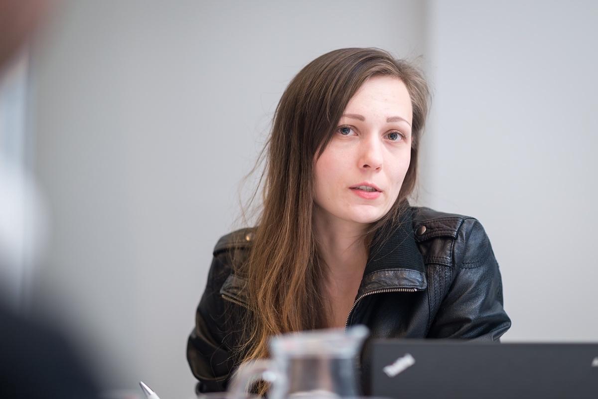 Michala Balarinová, PR manažerka Aukra. Foto: Vojta Herout