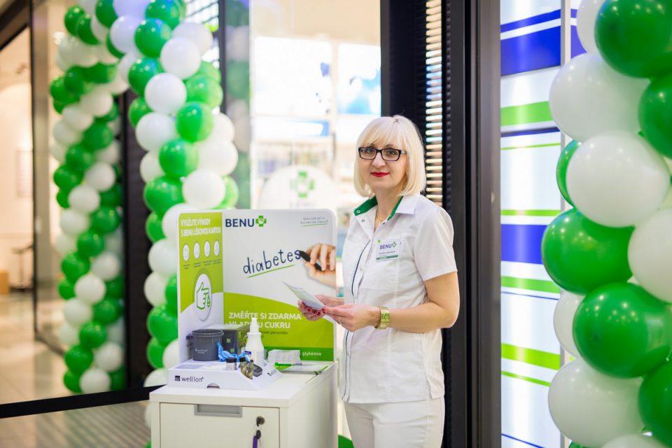 Lékárna Benu otevřela dvoustou prodejnu, nově nabízí měření diabetu