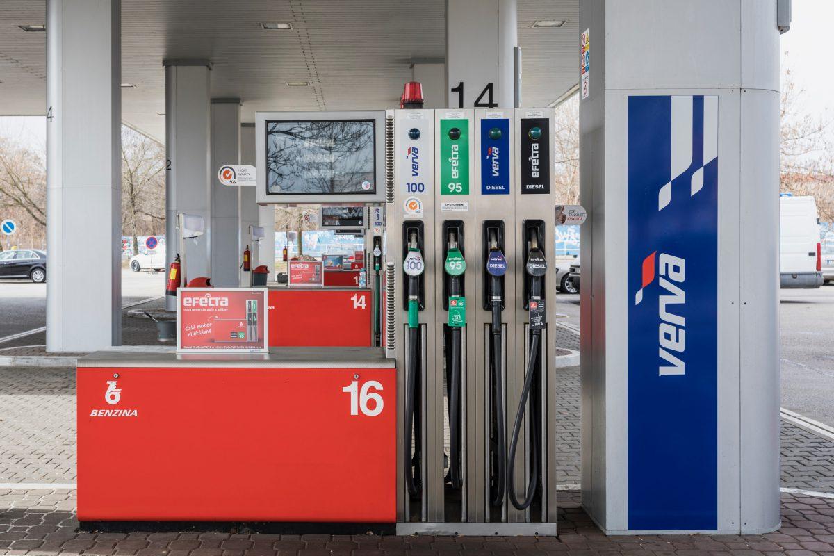 Nová paliva Benzina