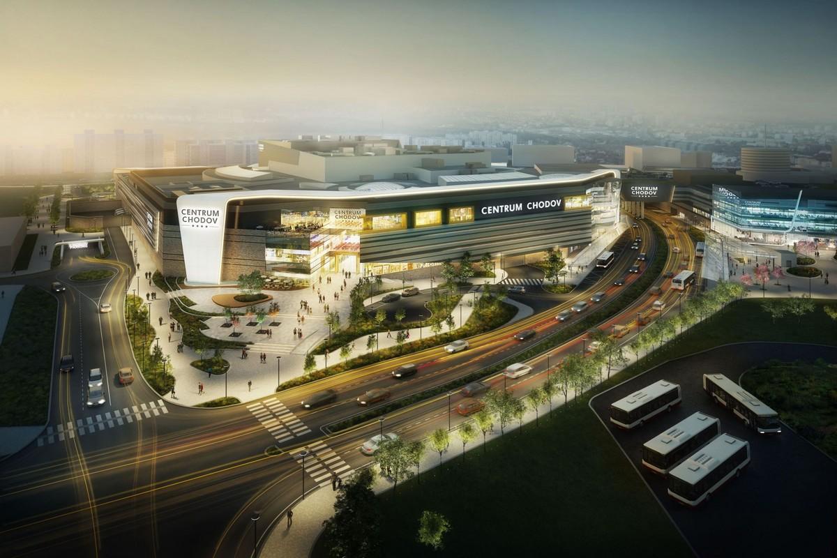 Přestavěné Centrum Chodov nabídne přes 100.000 metrů obchodní plochy