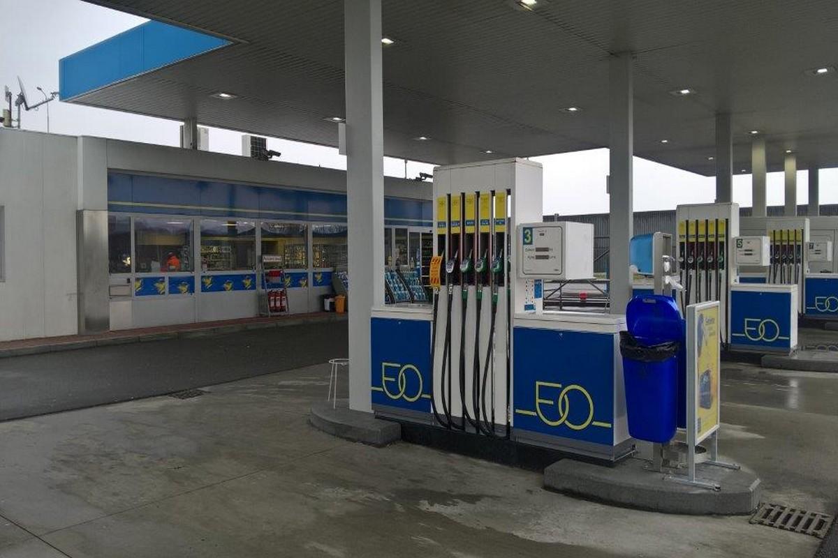 Vzhled modernizovaných benzínek