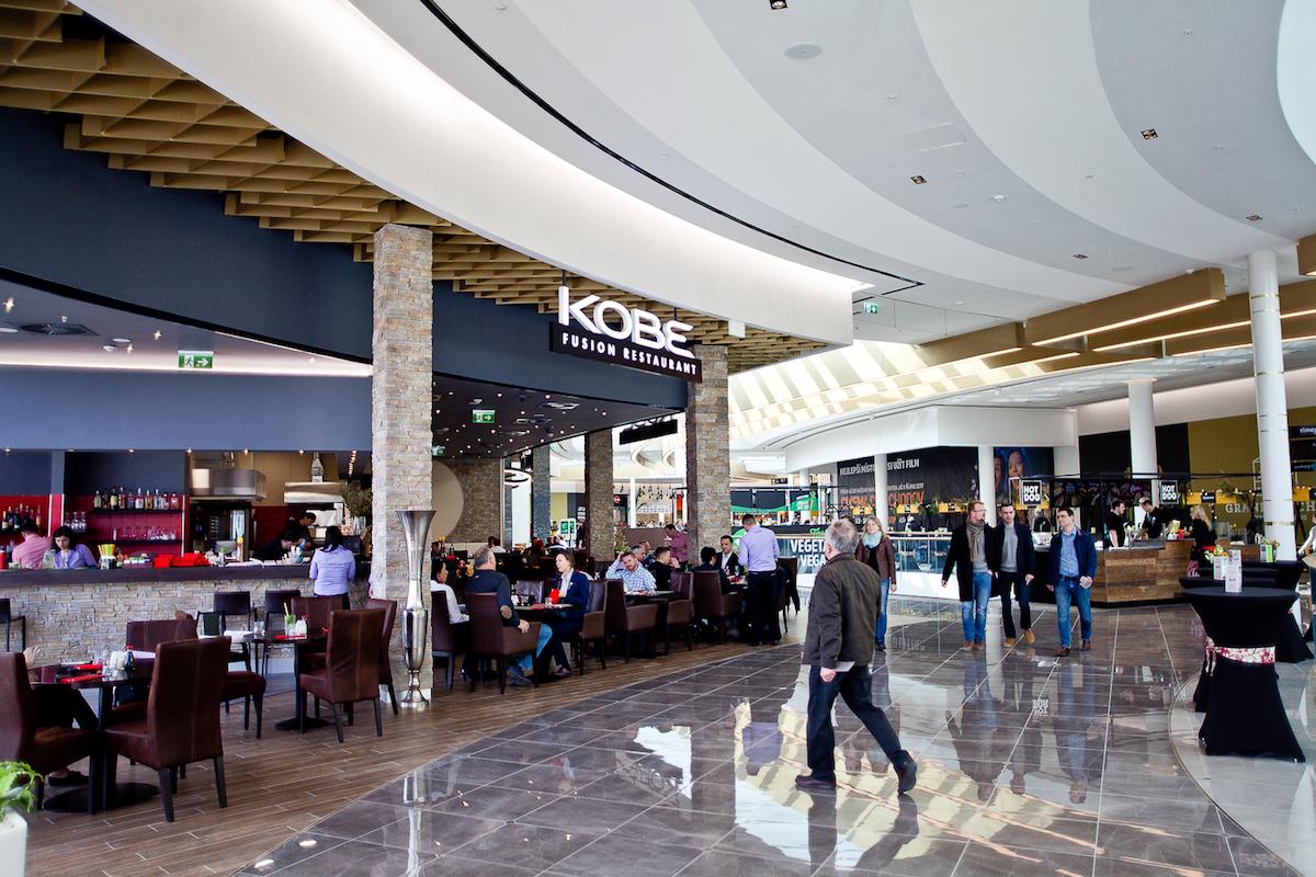 Nově otevřená zóna Grand Kitchen v Centru Chodov