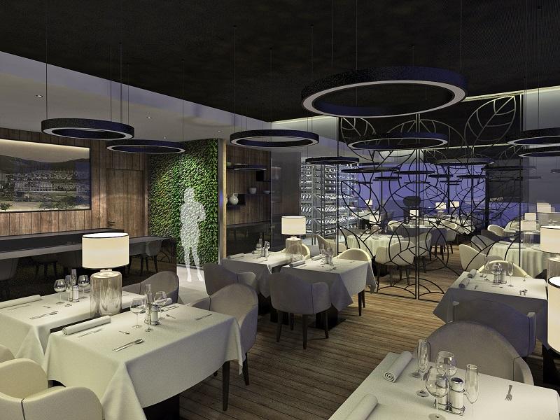Nová podoba Prioru: hotelová restaurace